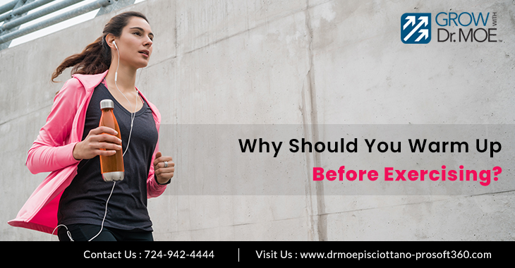 Why Should You Warm Up Before Exercising?